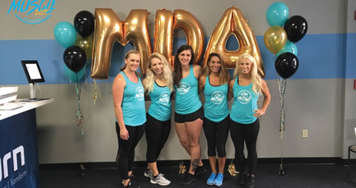 Burn Boot Camp Bands Together for MDA