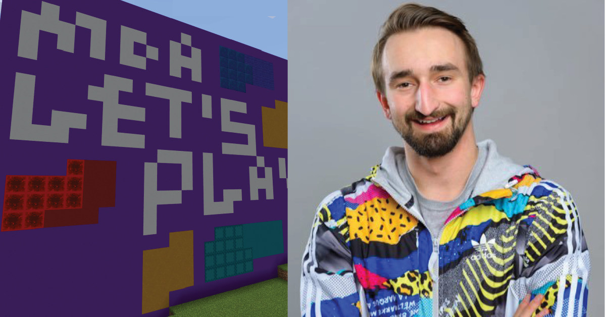 YouTube Gaming Sensation JeromeASF Hosts Minecraft Charity Livestream with Muscular Dystrophy Association's MDA Let's Play Community.