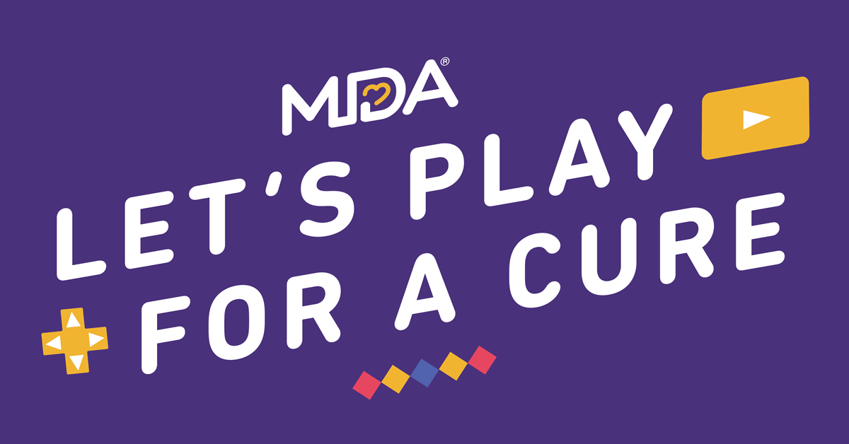 Muscular Dystrophy Association Announces MDA Let's Play For A Cure, A Multi-Week Streaming Event Featuring Special Guests Zedd, Voyboy, Trick2g, JonSandman, missharvey and More
