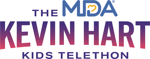 The MDA Kevin Hart Kids Telethon Logo