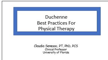 Duchenne Best Practices For Physical Therapy