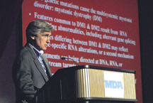 Neurologist John Day heads Stanford University's neuromuscular disease program and MDA clinic. He's had a longstanding interest in myotonic dystrophy.