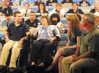 The Kelly family at the MDA Labor Day Telethon