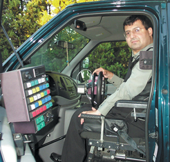 Adults with SMA are often able to drive with specialized hand controls.