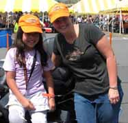 Abbey Umali at the MDA Ride for Life