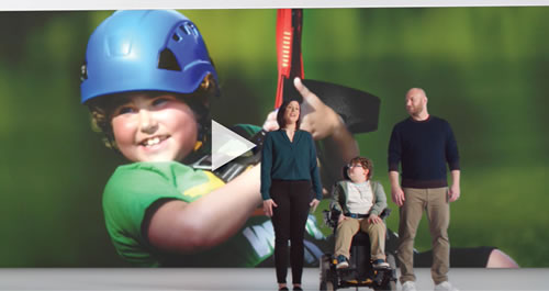 National Ambassador Ethan LyBrand featured in the new Verizon advertising campaign