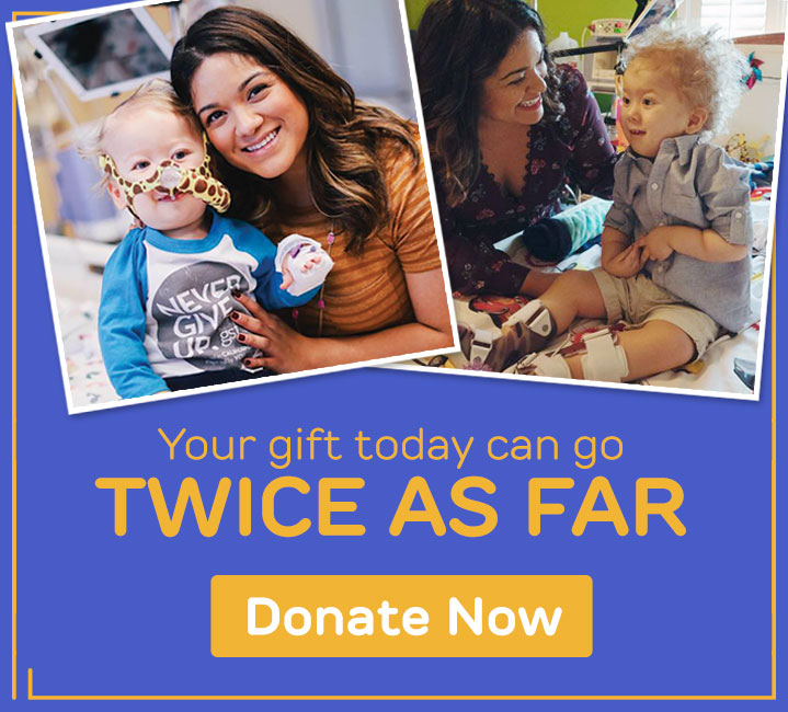 Your gift today can go Twice As Far.  Donate Now.