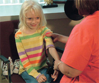 Testing for a genetic disease in children without symptoms is controversial.