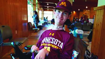 Ethan Och hosted a Facebook fundraiser to benefit MDA for his 21st birthday.