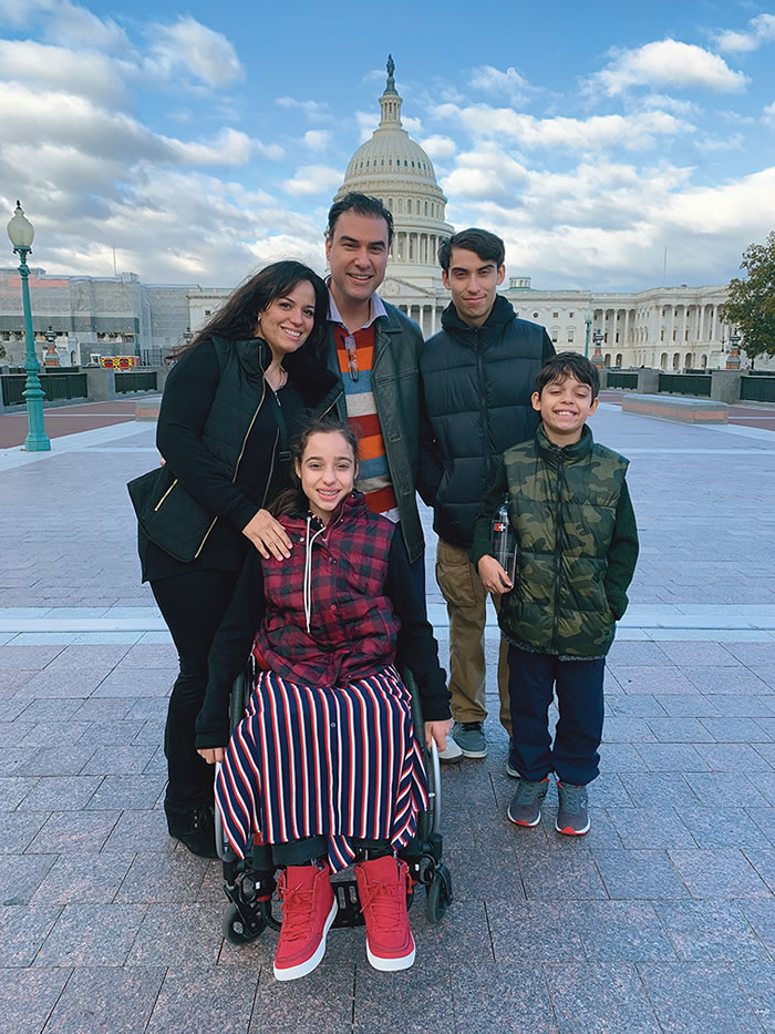 The Zelaya family (clockwise from left): Bevsi (amazing mom), Jaime (advocate dad), Josiah (kind big brother), Nehemiah (curious younger brother), and Leah (compassionate middle sister)