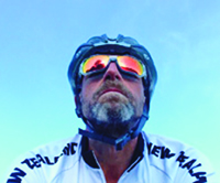An avid cyclist recently diagnosed with ALS, Ray Spooner is biking across the country to raise money for MDA.