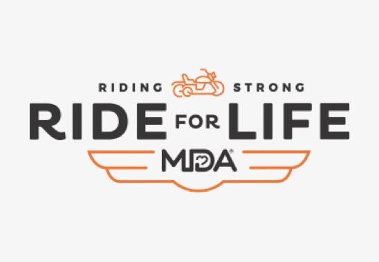 MDA Ride for Life logo