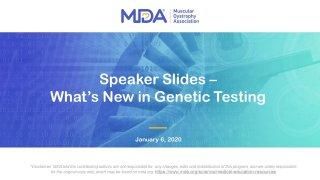 Genetic Testing Deck
