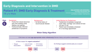 Early Diagnosis and Intervention in DMD - Patient #1