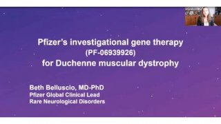 Pfizer's investigational gene therapy (PF-06939926) for Duchenne muscular dystrophy