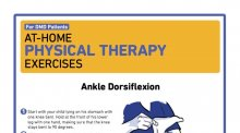 Screenshot for at home physical therapy for DMD.
