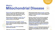 Fact sheet for Mitochondrial Myopathies.
