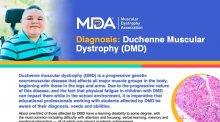 Downloadable educational flyer on Duchenne Muscular Dystrophy.