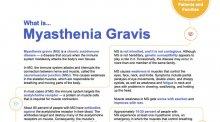 Myasthenia gravis downloadable document.