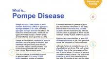 Pompe Disease downloadable resource.