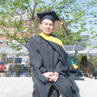 Tandin Dorji is fearlessly pursuing his professional goals.